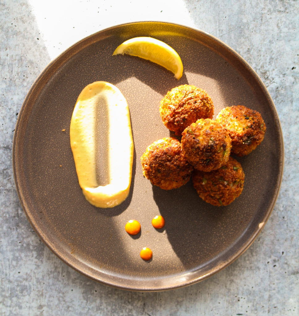 fried-wolffish-crab-cake-balls