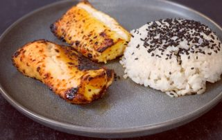 air-fryer-miso-marinated-wolffish